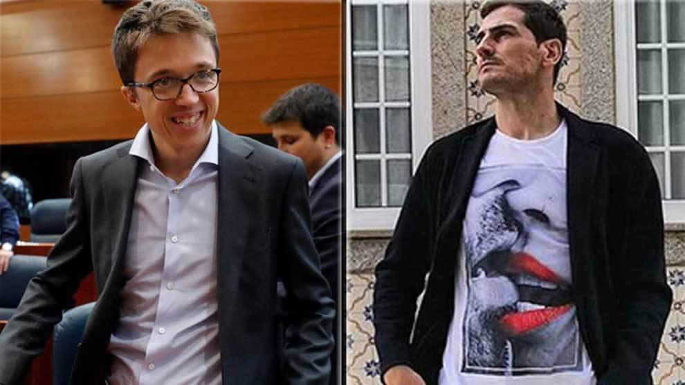 Íñigo Errejón e Iker Casillas