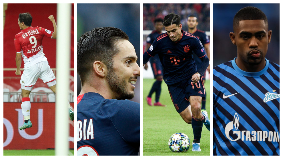 Ben Yedder, Sarabia, Coutinho y Malcom