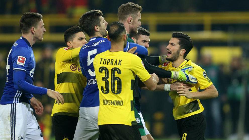 Borussia Dotrmun-Schalke 04, temporada 2017/18.