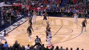 Doncic lanza el triple ganador ante los Pelicans