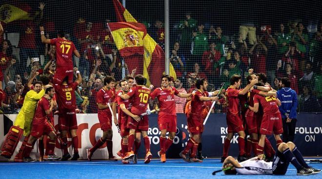 España celebra la clasificación a los Juegos de Tokio.