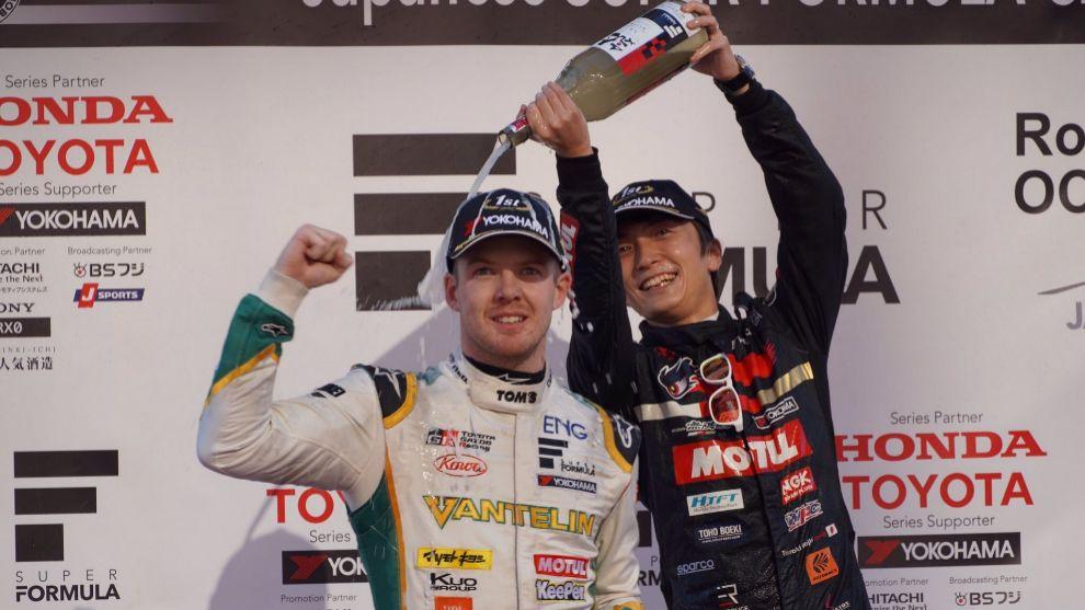 Nick Cassidy, nuevo campeón de la Súper Fórmula japonesa.