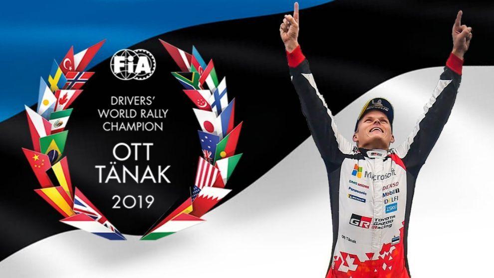 Ott Tänak, nuevo campeón del mundo.