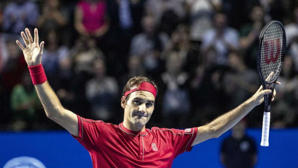 Federer se lleva su décimo título en casa sin ceder un solo set.