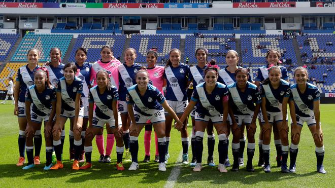 La foto oficial del equipo previo al duelo ante Cruz Azul.