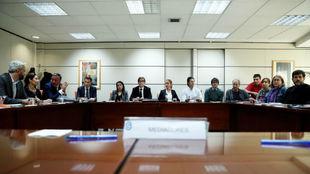Reunión en el SIMA de Madrid con todas las partes implicadas.