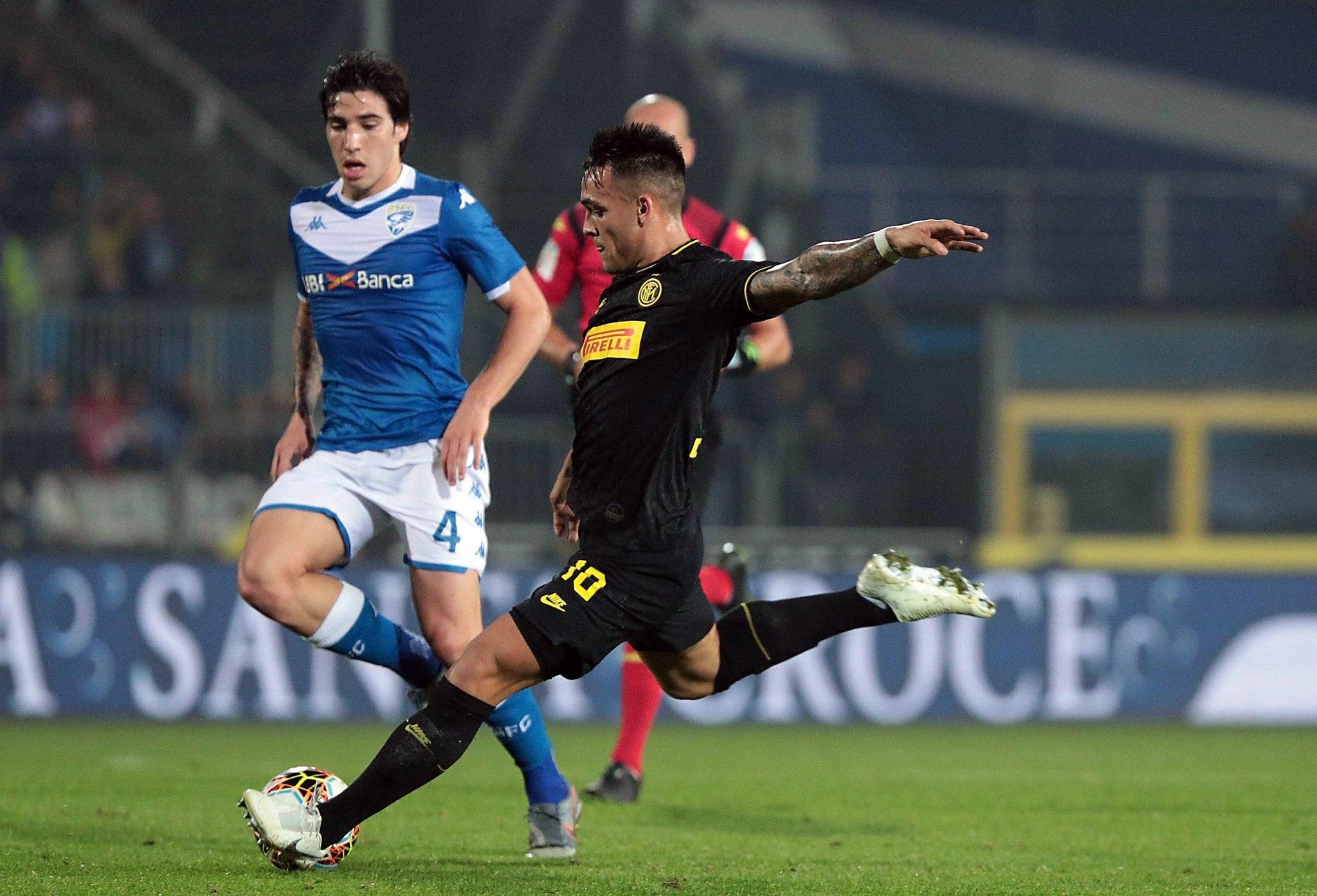 Lautaro Martínez y Lukaku siguen imparables y derrotan al Brescia