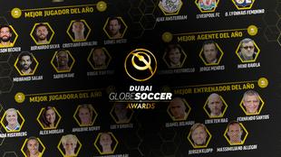 Globe Soccer Awards.