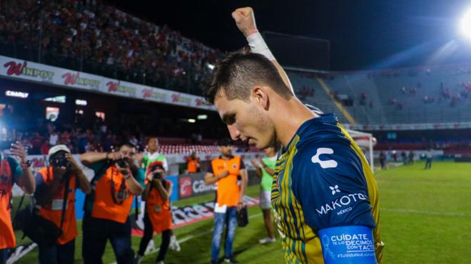 Jurado tras la victoria en Veracruz.