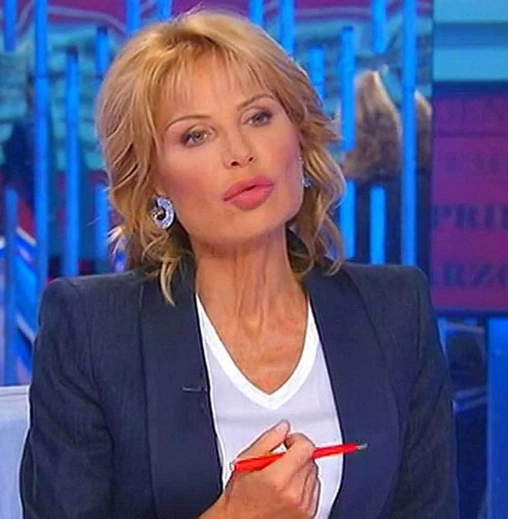La periodista italiana Lilli Gruber