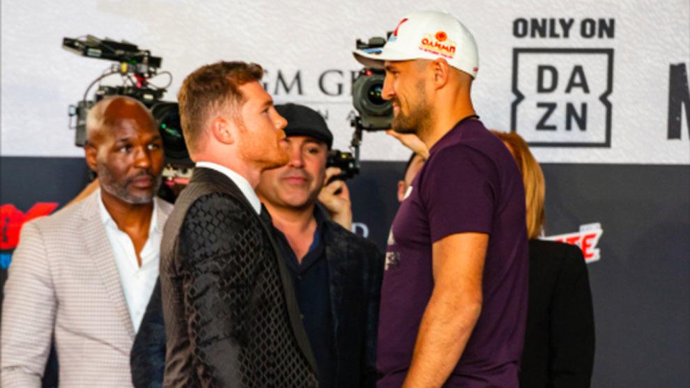 Canelo Alvarez frente a Sergey Kovalev