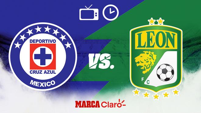 Cruz Azul vs León, horario y dónde ver.