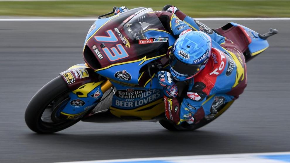 Alex Marquez, en el pasado GP de Australia.