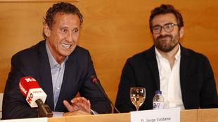Valdano, invitado de honor en la presentación de la VII edición del Máster en Periodismo Deportivo MARCA
