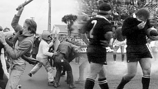 Disturbios durante la gira de 1981