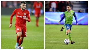 Pozuelo y Rodríguez, con Toronto y Seattle, respectivamente