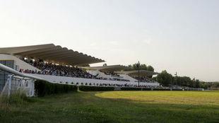 Vista general del Hipódromo de la Zarzuela