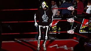 La Parka, luchador mexicano.