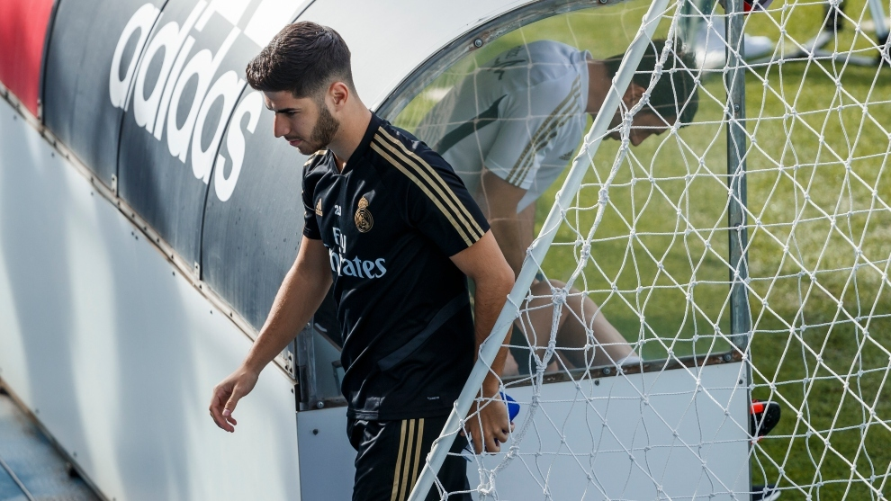 Asensio returns to the gym