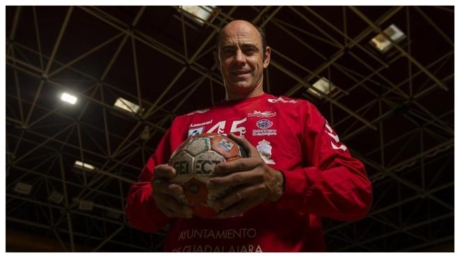 Joseja Hombrados, 47 años, posa en un reportaje.