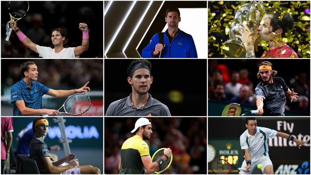 Los mejores tenistas del año, presentes en Londres