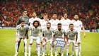 El once del Madrid en Estambul, que fue el mismo que arrancó ante el...