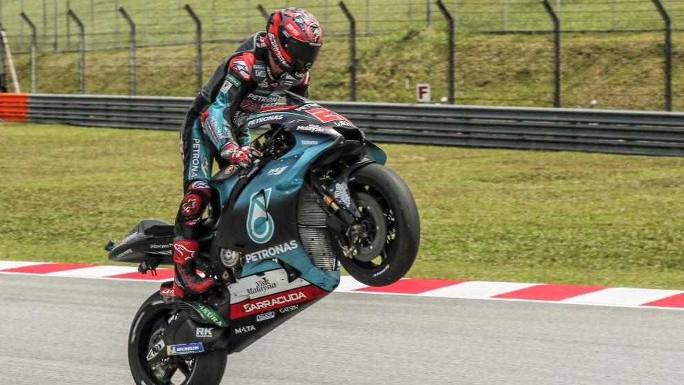 Fabio Quartararo, pole en Sepang.