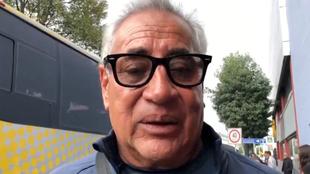 Leonardo Cuéllar, entrenador del América Femenil.