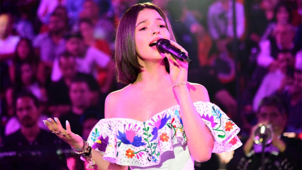 Ángela Aguilar entonará el Himno de México