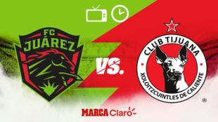 FC Juárez vs Tijuana, horario y dónde ver