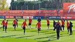 Recuperación y partido ante el filial en el Atlético