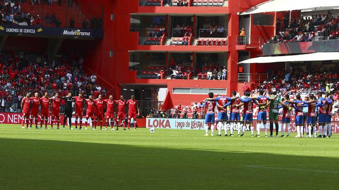 Chivas y Toluca guardaron respeto en el Nemesio Diez.
