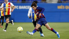 Riqui Puig en el duelo contra el Andorra