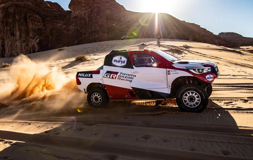 Alonso estrenará nuevo coche en el Al Ula Neom Rally.