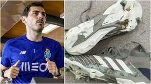 Iker Casillar volvió a entrenar con el Porto