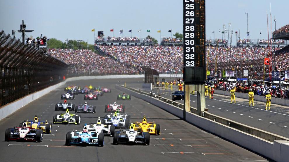 El circuito de Indianapolis.