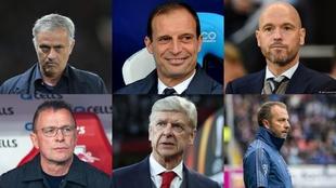 Los candidatos al banquillo del Bayern