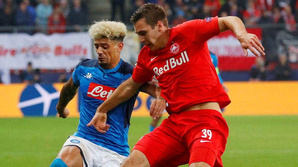 Champions League Napoli Vs Salzburgo Horario Y D U00f3nde Ver