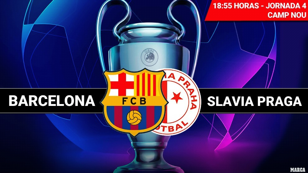 Barcelona held to a draw by Slavia Prague