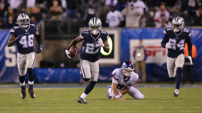 Gato negro interrumpe partido de la NFL; entre los Cowboys y Giants