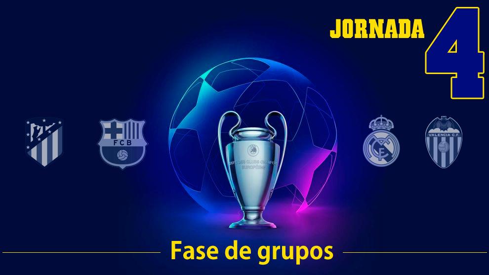 La programación de la Champions League para esta semana