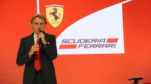 Luca di Montezemolo, en un acto de Ferrari en 2011.