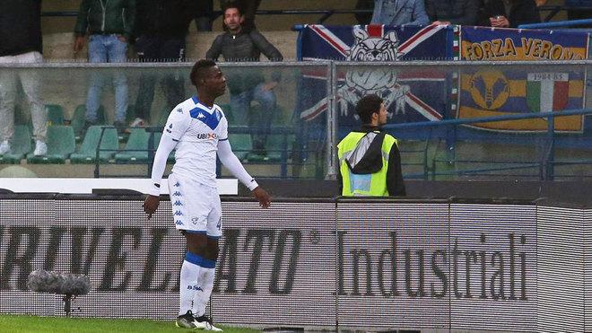 Balotelli, en Verona.