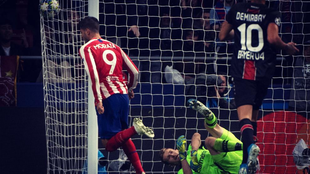 Álvaro Morata es el jugador del Atlético de Madrid con más opciones...