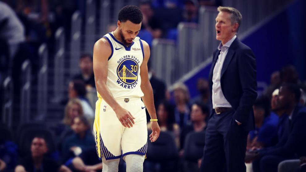 Curry se perderá los próximos meses de competición por una lesión...