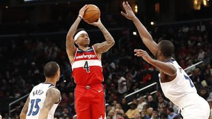 Isaiah Thomas en acción con los Wizards