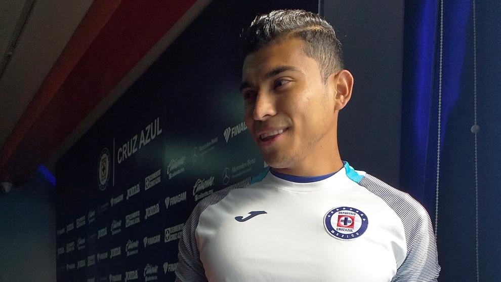 Orbelín Pineda, jugador del Cruz Azul