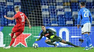 Haaland marca de penalti el 0-1.