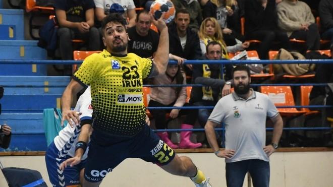 Rodrigo Salinas, autor de nueve goles ante el Granollers /