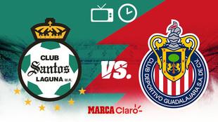 Santos vs Chivas, horario y dónde ver.